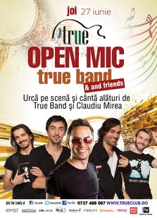 Open Mic in True Club din Bucuresti