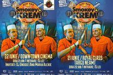 Concerte Smokey & KREM in Royal Class si Down Town