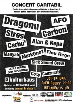 Concert Hip-Hop Caritabil in Kulturhaus!