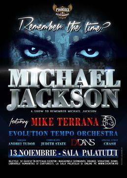Remember the Time? Tribut Michael Jackson la Sala Palatului - amanat