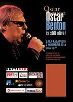 Concert OSCAR BENTON - STILL ALIVE la Sala Palatului