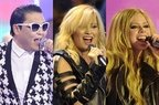 PSY, Demi Lovato, Avril Lavigne live @ MuchMusic Video Awards 2013