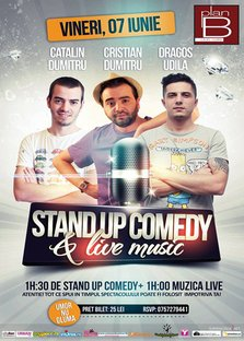 Stand Up Comedy & Live Music in Plan B