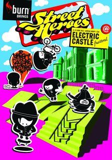 Street Heroes de Cluj, la Electric Castle