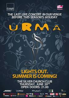Live concert URMA - Lights out. Summer Is Coming @TSC