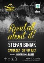 Read all about it! Stefan Biniak @ Ponton Casa Baraj!