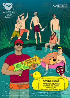 Teddy Bear presents Amine Edge @ Barletto (castiga 10 invitatii duble)