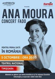 Concert Ana Moura la Teatrul National din Timisoara