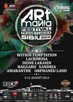 Lacrimosa concerteaza in Piata Mare din Sibiu la ARTmania Festival 2013