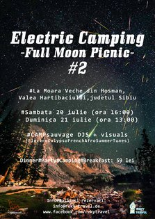 Electric Camping/Full moon picnic