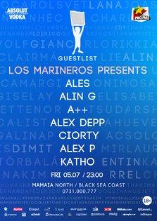 Los Marineros on the Guestlist balcony @ Guestlist Mamaia (castiga invitatii)