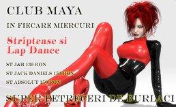 LAP DANCE BURLESQUE KINKY PARTY @ Club Maya