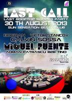LAST ROOFTOP SUMMER PARTY @ SUN SENSATION BEACH CLUB