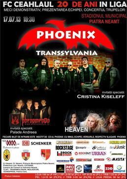 PHOENIX in concert la Piatra Neamt