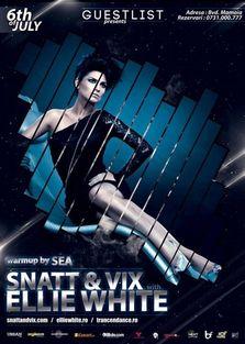 Snatt & Vix si Ellie White @ Guestlist Mamaia (castiga invitatii)