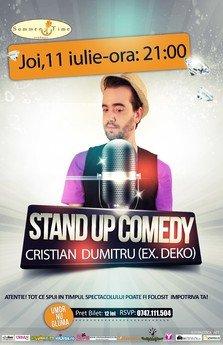 Stand Up Comedy Cristian Dumitru@Summer Time Pub