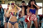 Beyonce a filmat noul videoclip (poze)