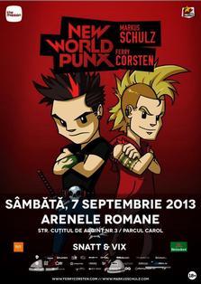 Castiga 2 invitatii la New World Punx - Ferry Corsten & Markus Schulz!