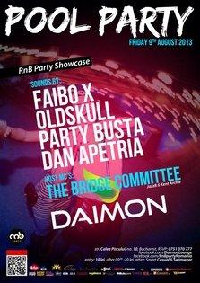 FRIDAY RnB Pool Party Showcase @ DAIMON club & pool