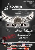 BENETONE Band LIVE in Route 66