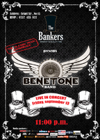 BENETONE Band - Concert LIVE in The Bankers