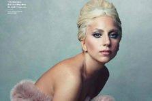 Lady Gaga in ELLE, cea mai frumoasa coperta!