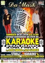 KARAOKE star PARTY by MC NiNO & DJ GORE @ Caffe Da'Mask