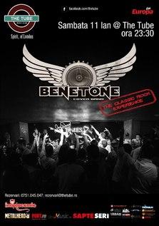 BENETONE Band LIVE in The Tube