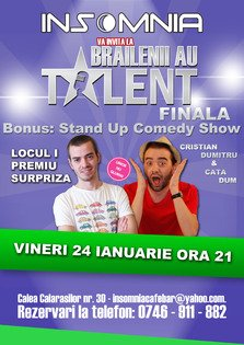 Stand Up Comedy in Insomnia Pub