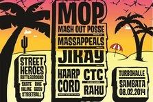 Castiga o invitatie dubla la Street Heroes cu MOP, Massappeals, raku si CTC