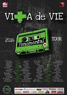 Turneu national FENOMENTAL cu Vita de Vie in 2014
