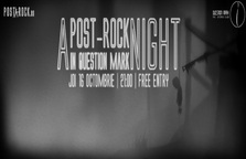 A Post-Rock Night in Question Mark