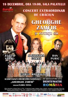 Concert Gheorghe Zamfir de Craciun