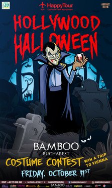 Bamboo te invita Hollywood Halloween Party