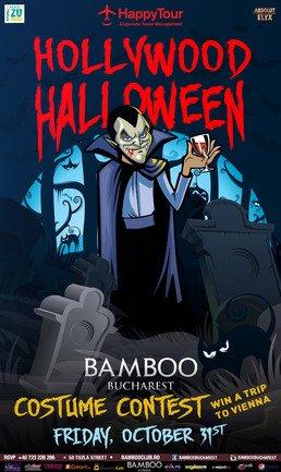 Bamboo te invita Hollywood Halloween Party