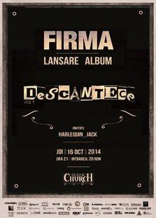 Firma lanseaza albumul Descantece