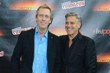 George Clooney si Hugh Laurie in TOMORROWLAND