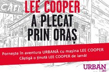 CONCURS! Castiga cea mai cool tinuta de iarna si urmareste aventura urbana cu masina Lee Cooper!