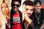 Nicki Minaj - Only feat. Lil Wayne, Drake & Chris Brown (single nou)
