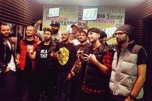 Maximilian, Grasu XXL, Mitza, Junky live @ Radio ZU