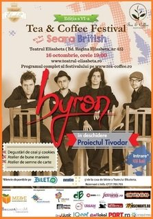 Concert byron la Seara British de la Tea&Coffee Festival