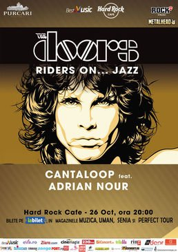 Riders On Jazz -  The Doors Live Tribute la Hard Rock Cafe - ANULAT