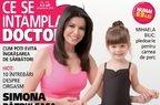 Simona Patruleasa si fetita sa, pe coperta de Craciun a revistei Ce se intampla, doctore?