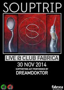 Seara electro & multimedia show: Souptrip & Dreamdoktor @ Club Fabrica