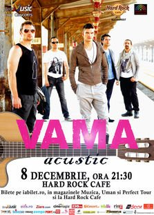VAMA Acustic @ Hard Rock Cafe