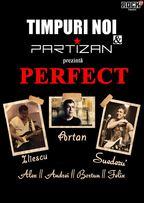 Timpuri Noi si Partizan vor concerta impreuna la Bucuresti