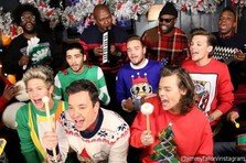 One Direction & Jimmy Fallon - Santa Claus is Coming to Town