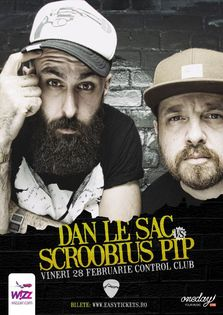 dan le sac Vs Scroobius Pip revin in Romania