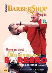 BARBERSHOP the Sequel #3 - Phenom gets shaved