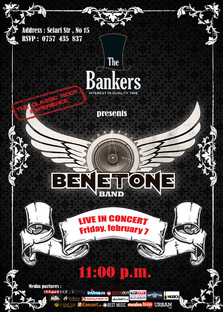 BENETONE LIVE in The Bankers
